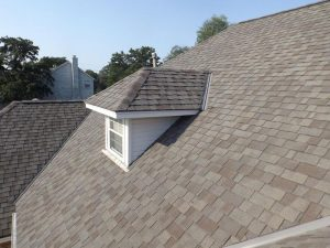 We completed this Cedar Rapids roofer project on time